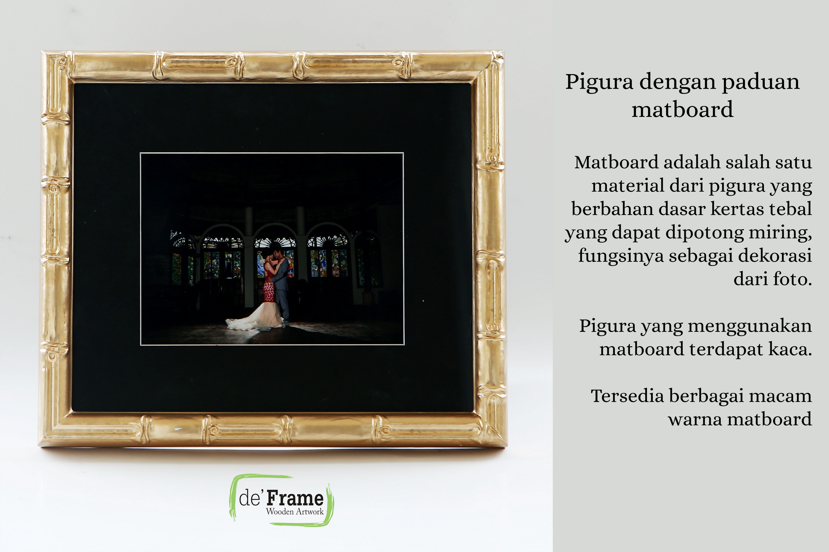 matboard-frame-pigura-minimalis-vintage